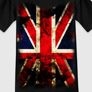 union_jack_down Kids' Shirts - Kids' T-Shirt