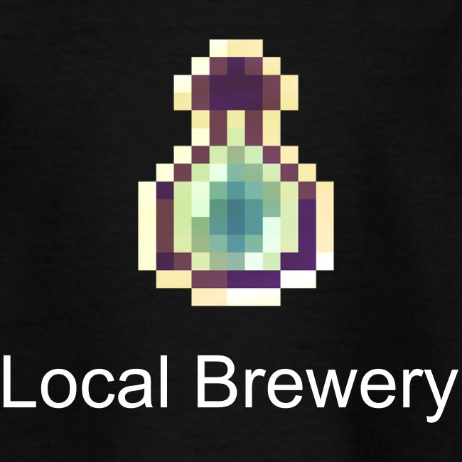 "Kinder T-Shirt - Bottle ""Local Brewery"""