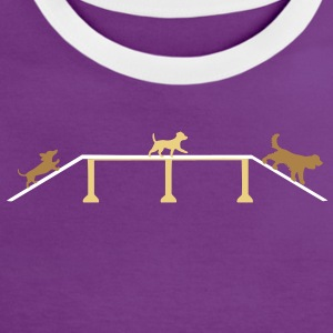 Agility  T-shirts - Vrouwen contrastshirt