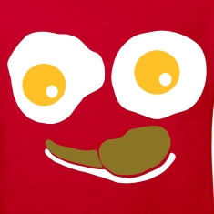 Red Eggs and Bacon Kid's Shirts