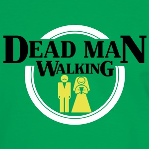 Dead Man Walking T-Shirts - Männer Kontrast-T-Shirt