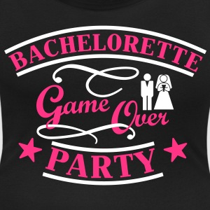 Bachelorette Game Over T-shirts - Vrouwen T-shirt met U-hals