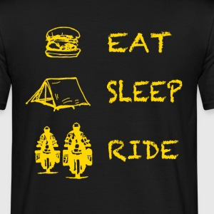 Eat Sleep Ride T-Shirts - Männer T-Shirt