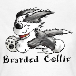 Bearded Collie - chien - Tee Shirt - T-shirt Femme