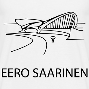 TWA terminal . Eero Saarinen - Men's T-Shirt