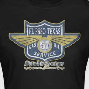 El Paso Texas Oil Service - Frauen T-Shirt