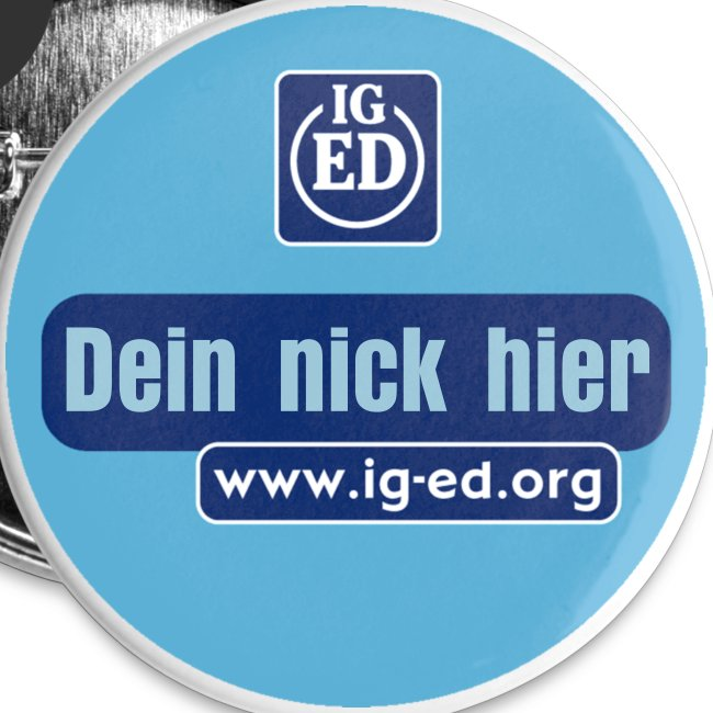 IG-ED Buttons groß                         mit nick