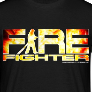 firefighter T-shirts - Mannen T-shirt