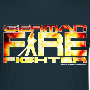 German Firefighter Shirt - Männer T-Shirt
