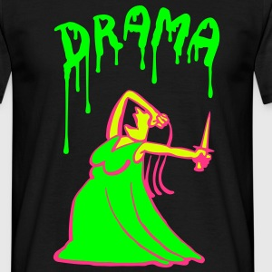 Queen of Drama T-Shirts - Men's T-Shirt