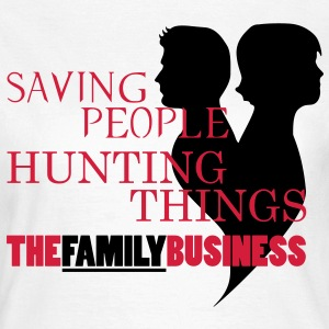 Supernatural Familybusiness T-Shirts - Frauen T-Shirt