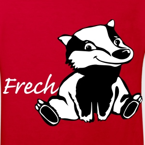 Frecher Dachs - Kinder Bio-T-Shirt