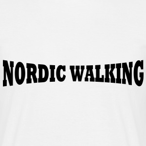 Nordic Walking T-Shirt - Männer T-Shirt