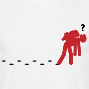 Confused Traveller 2 (dd)++ Tee shirts - T-shirt Homme