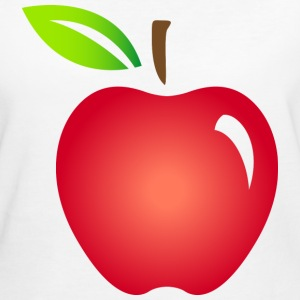Apple Fruit (dd)++ Tee shirts - T-shirt Bio Femme