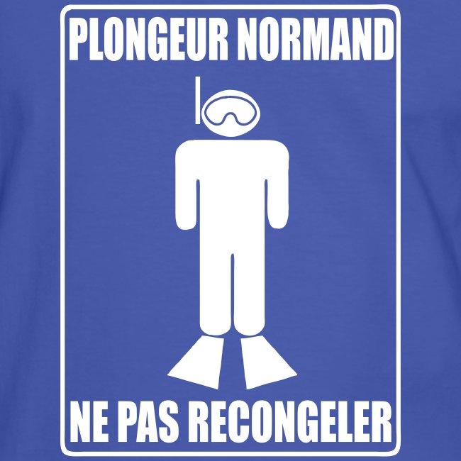 """Plongeur Normand"" - Imp.Flex+Logo Dos"