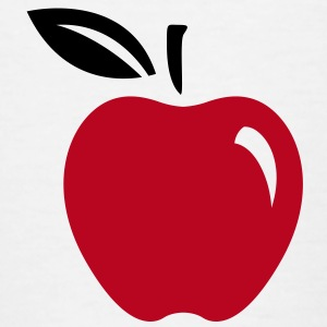 Apple Fruit (2c)++ Kinder shirts - Kinderen T-shirt