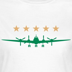 Airplane (2c)++ T-shirts - Vrouwen T-shirt