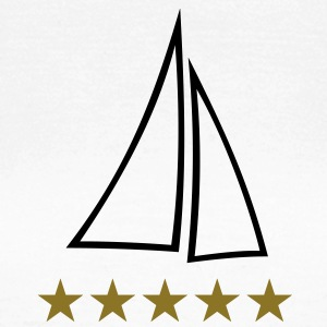 sail sailing boat yacht ships sails ship T-Shirts - Women's T-Shirt
