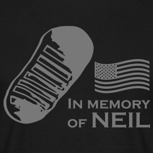 Neil, in memory - Männer T-Shirt