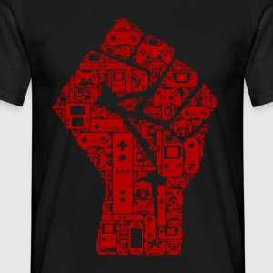 Gamer fist revolution - T-shirt Homme