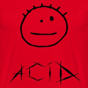 Acid - T-shirt herr