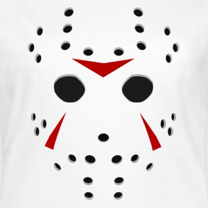 Jason Halloween Hockey mask - Vrouwen T-shirt