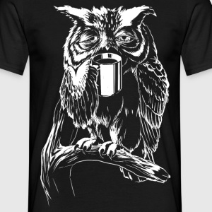 Coffee Owl T-Shirts - Mannen T-shirt