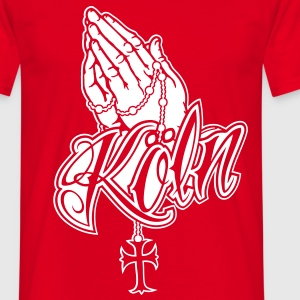 Praying Hands Koeln 2.0 T-Shirts - Männer T-Shirt
