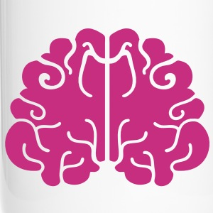 BRAINS! simple one colour Bottles & Mugs - Travel Mug