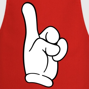 Pointing finger - Cooking Apron