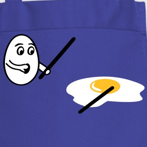 Chef Clothing kitchen Apron Egghead broken Egg - Cooking Apron