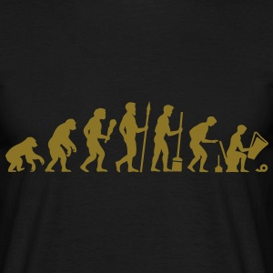 Evolution WC - Pause T-Shirts - Männer T-Shirt