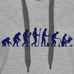 Evolution WC - Pause Pullover & Hoodies - Frauen Premium Hoodie