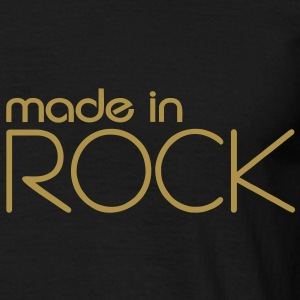 Made in Rock Tee shirt Homme or paillettes - T-shirt Homme