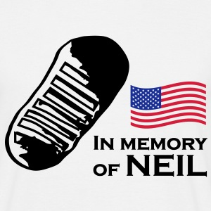 In memory of Neil - Männer T-Shirt