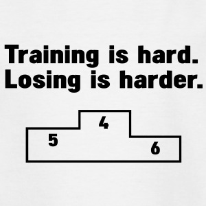 Training vs losing T-shirts - T-shirt tonåring