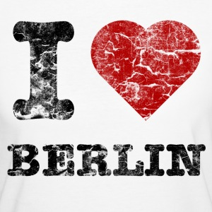 i_love_berlin_vintage_dark T-Shirts - Women's Organic T-shirt