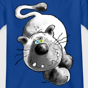 Siamois chat- comique - caricature-design - T-shirt Enfant