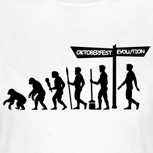Evolution Oktoberfest  T-Shirts - Frauen T-Shirt