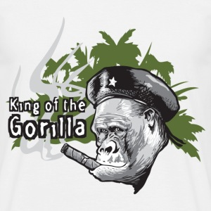 king of gorilla - T-shirt Homme