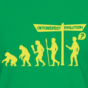 Oktoberfest Evolution T-Shirts - Men's Ringer Shirt