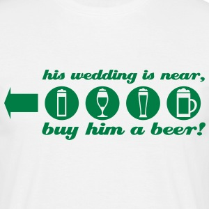 jga-T-shirt his wedding is near - Männer T-Shirt