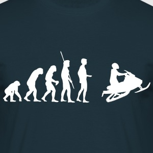 Evolution snowmobile  T-Shirts - Men's T-Shirt