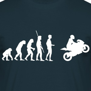 Evolution Motorcycle  T-Shirts - Men's T-Shirt