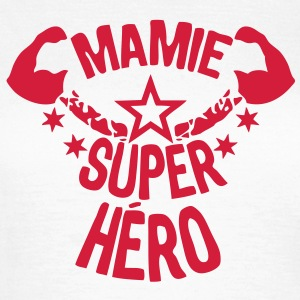 mamie super hero etoile muscle bras star Tee shirts - T-shirt Femme