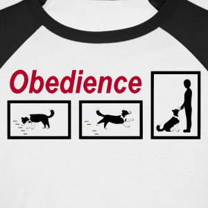 Obedience  T-Shirts - Men's Baseball T-Shirt