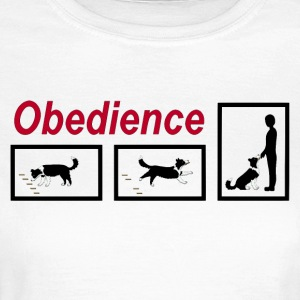 Obedience  T-shirts - T-shirt dam