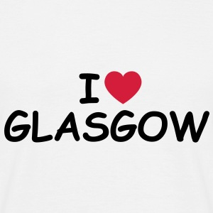 I love/heart Glasgow T-Shirt - Männer T-Shirt