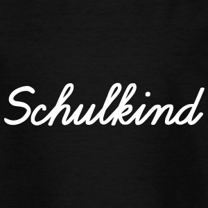 Schulkind Vektor - Kinder T-Shirt